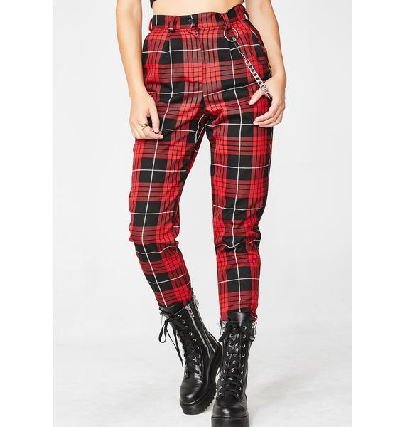 LOVE TOO TRUE Courtney Classic Trousers