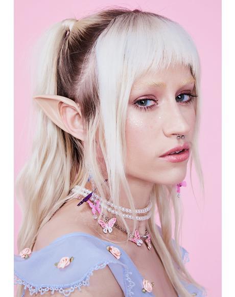 Beige Short Elf Ears