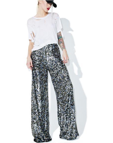Multi Sequin Pants