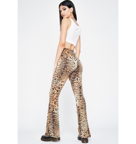 Kitty Shine Flared Pants