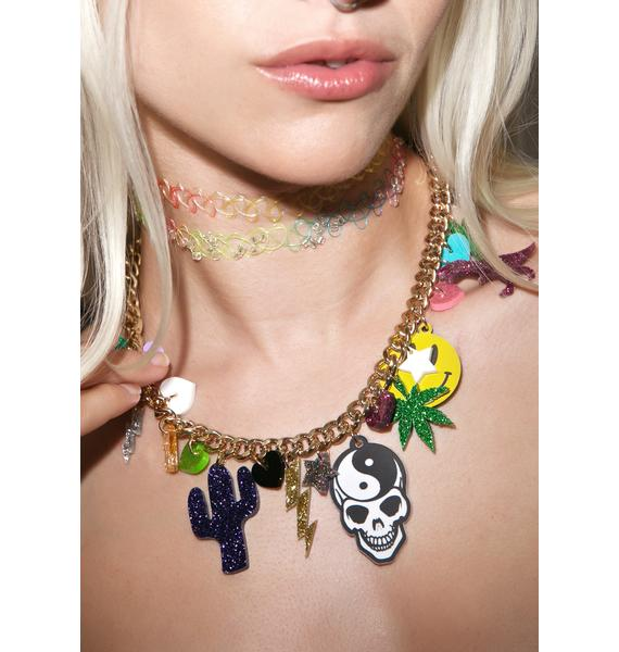 Haus of Dizzy Charmed Necklace