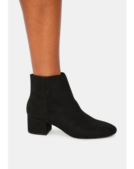 Give Me A Sign Ankle Boots