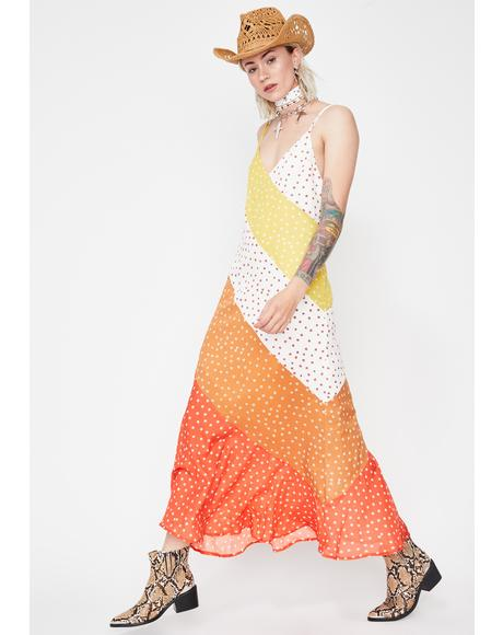 Sunshine Snack Maxi Dress