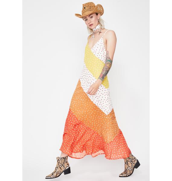 Sunshine Snack Maxi Dress