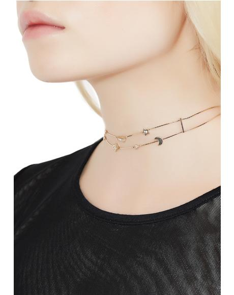 Light Of Night Choker