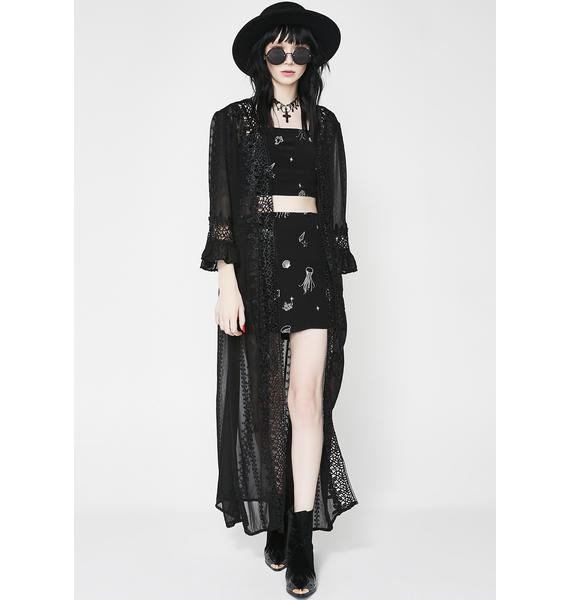 Midnight Memory Sheer Robe