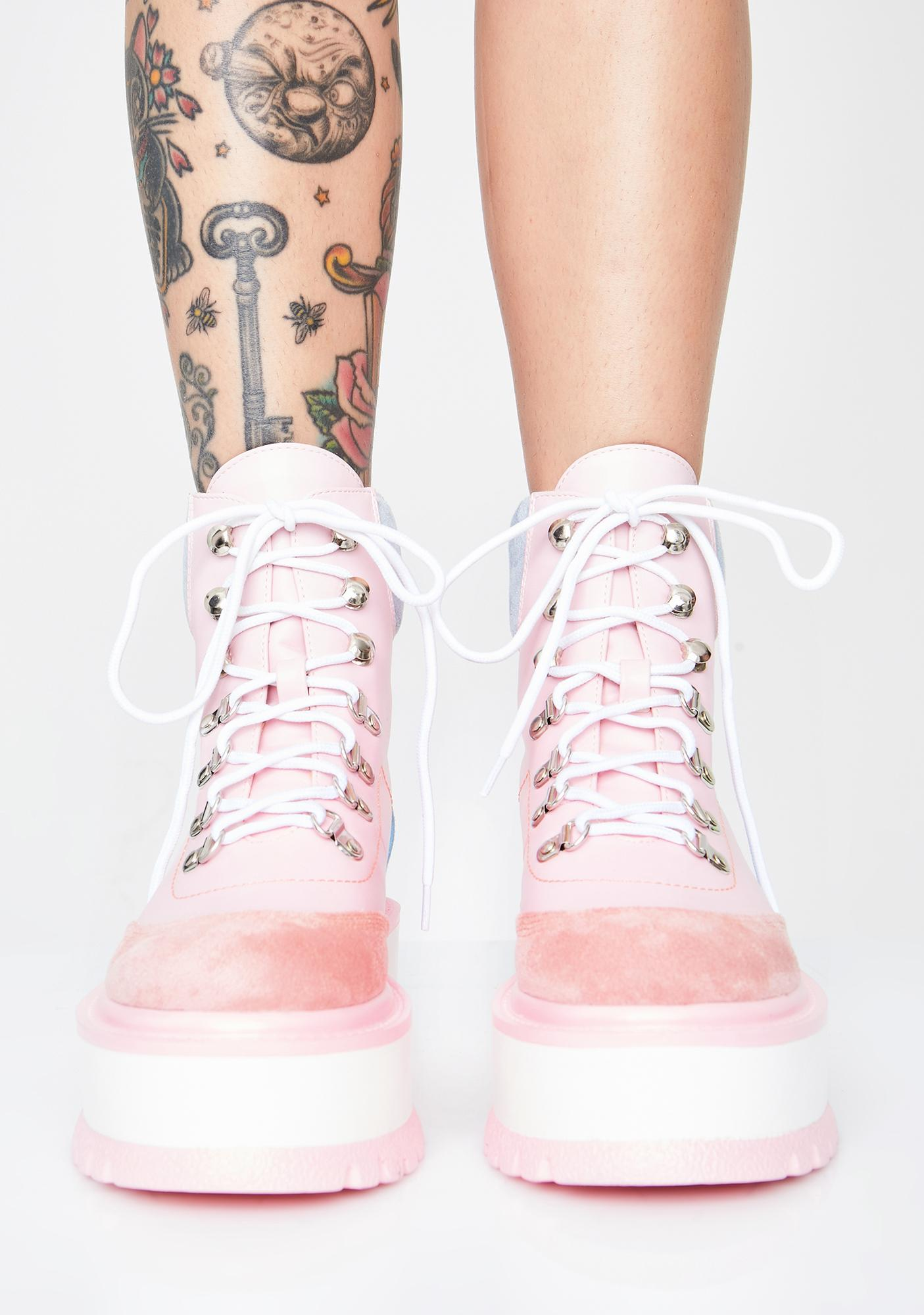 Koi Footwear Baby Hydra Matrix Platform Boots