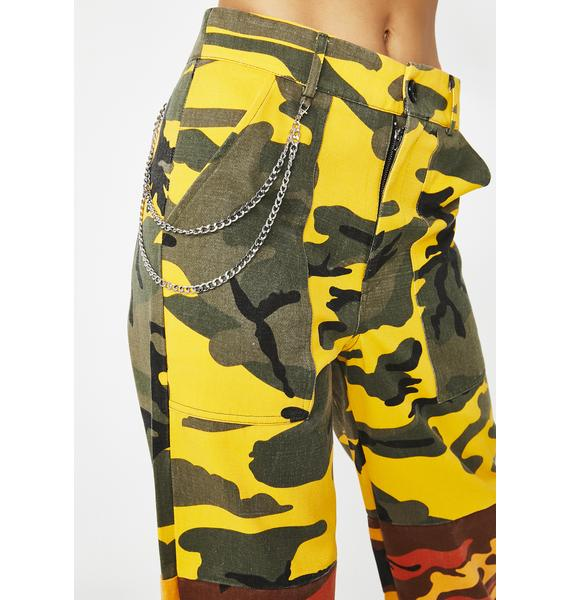 Concrete Jungle Camo Pants