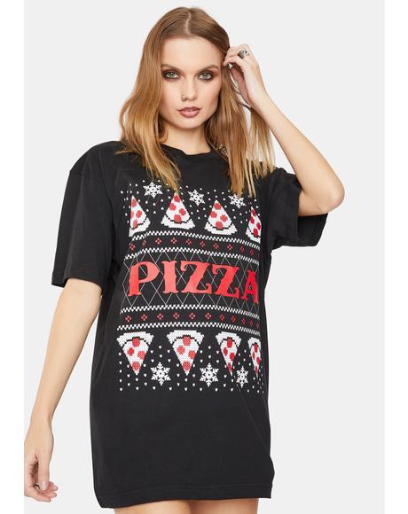 Pizza Xmas Tee