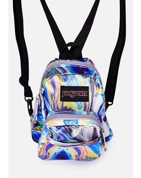 Oil Swirl Quarter Pint Mini Backpack