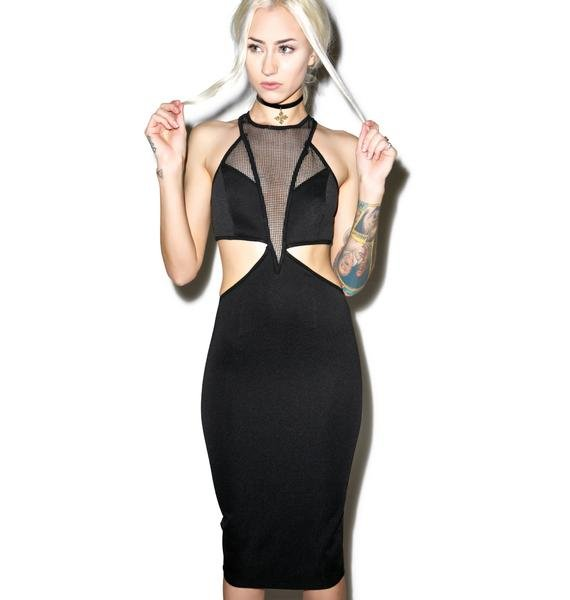 Dark Nebula Bodycon Dress