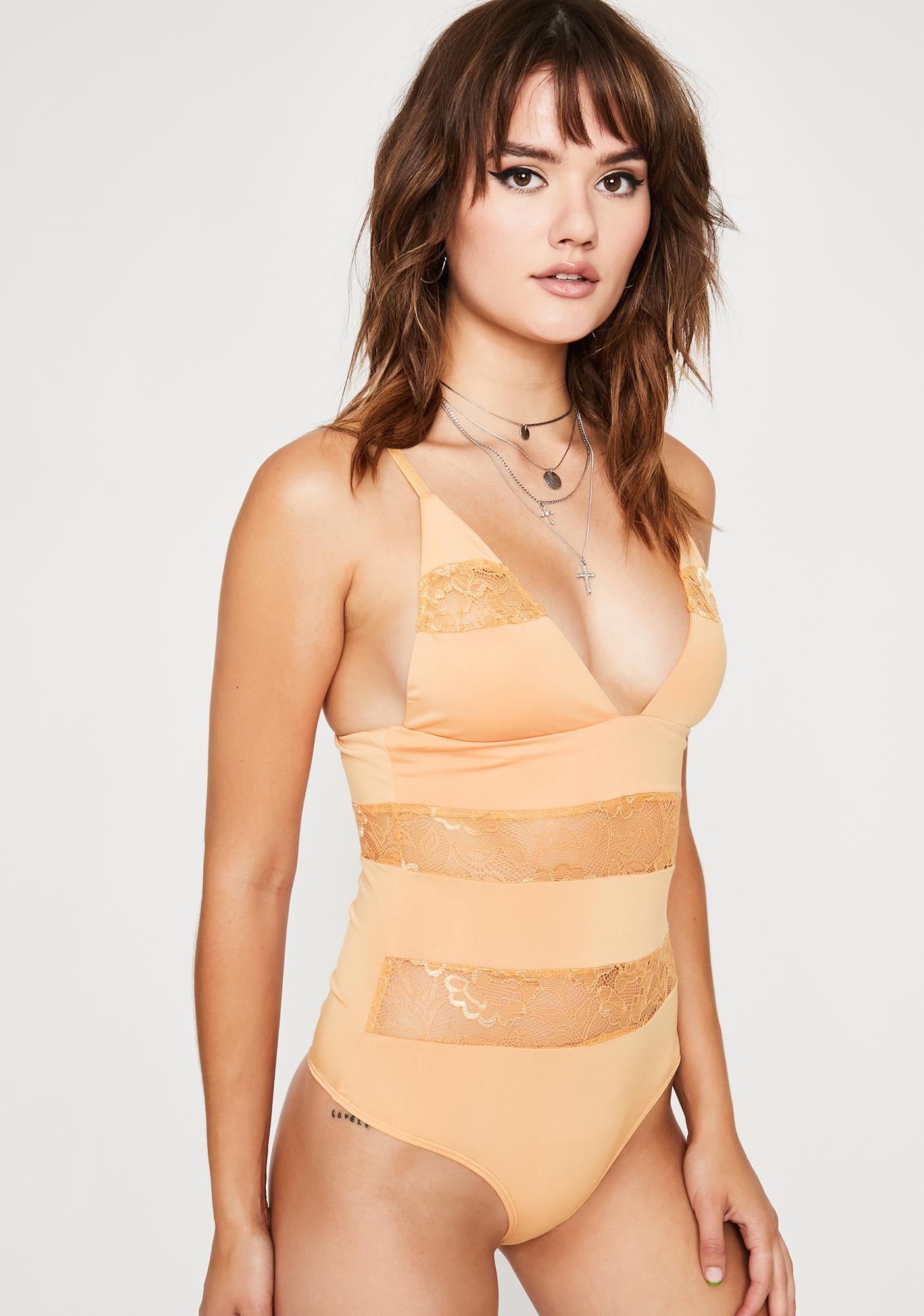 Juicy Parental Guidance Lace Bodysuit