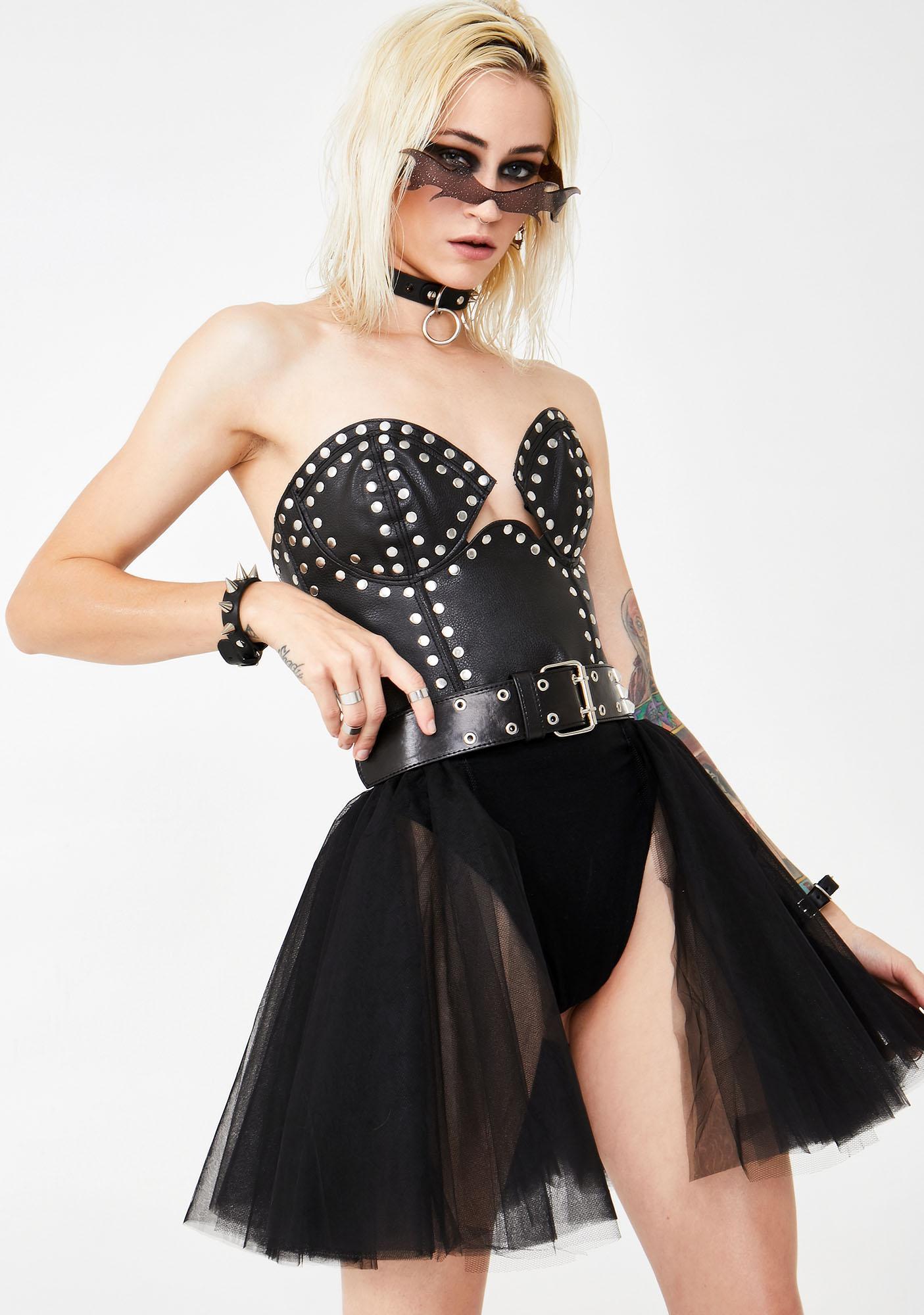 Kiki Riki Catatonic Kitten Tulle Skirt