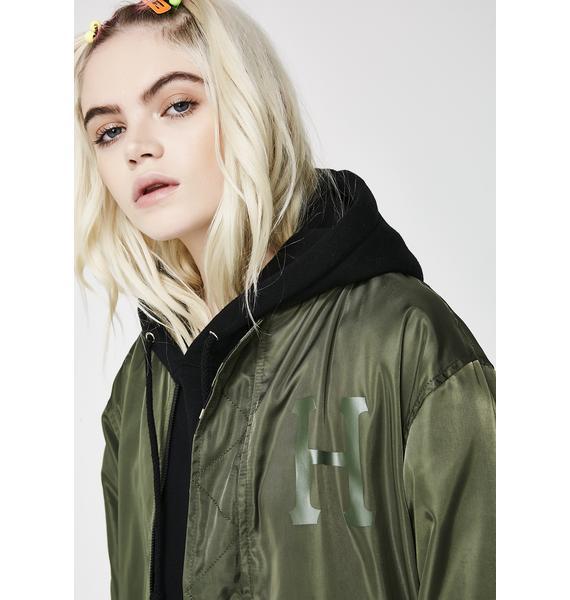 HUF Standard Issue MA-1 Jacket