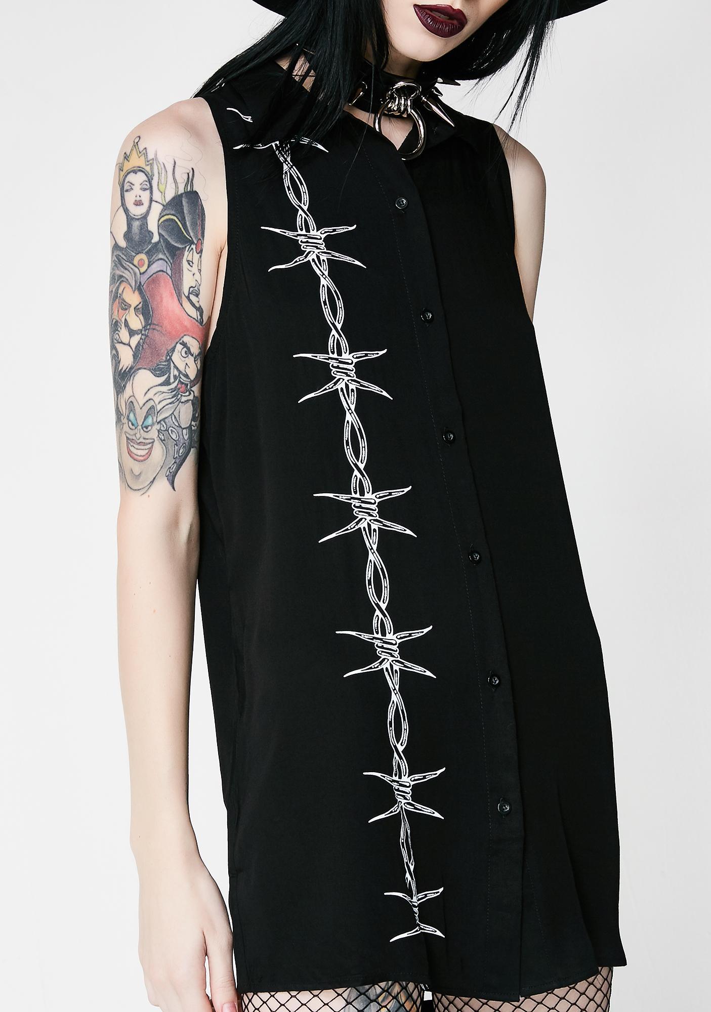 Disturbia Barbed Shirt