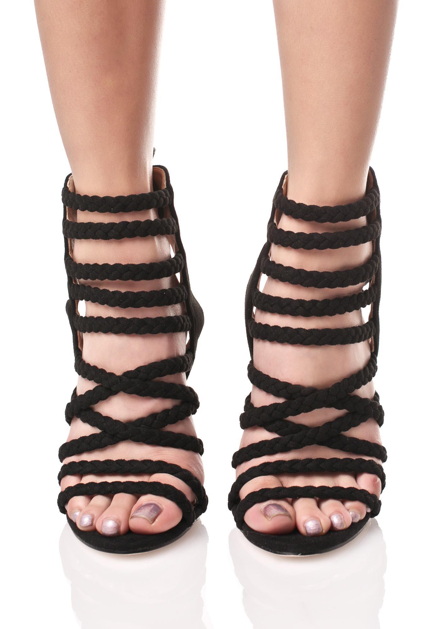Braided Riot Heels