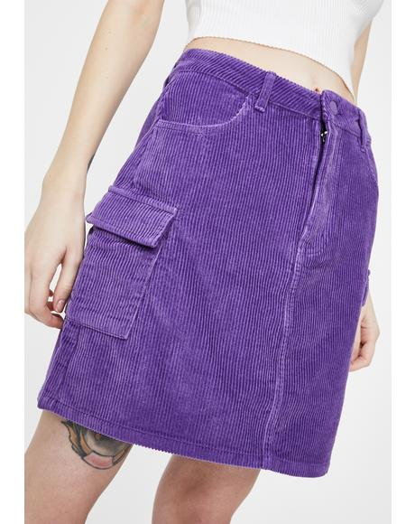 Oaf Lab Cord Skirt
