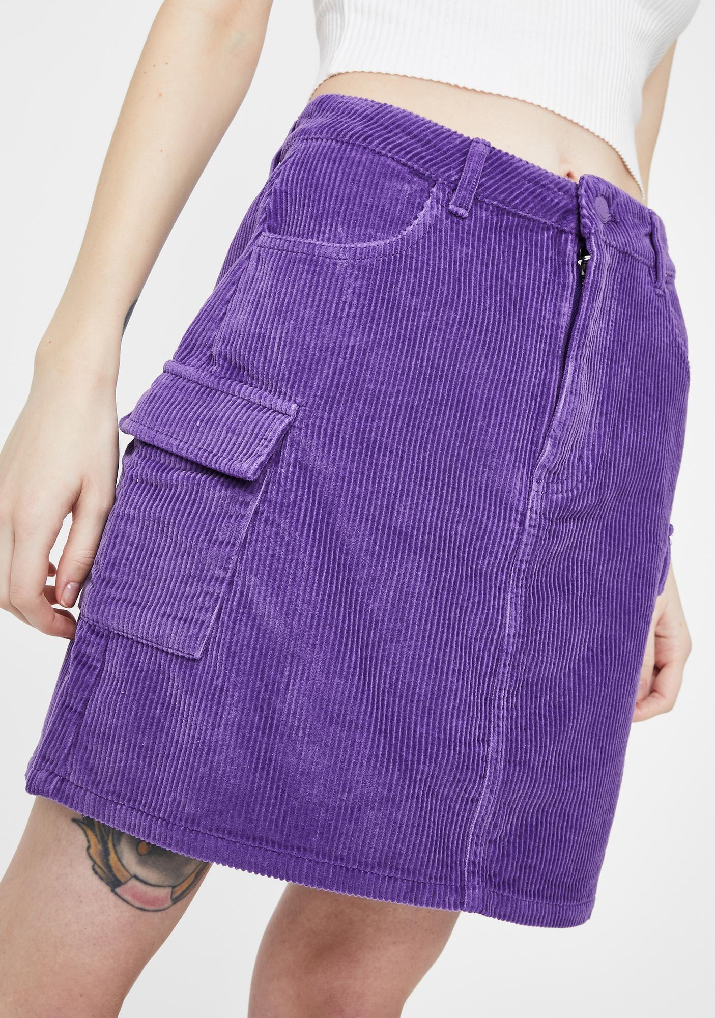 Lazy Oaf Oaf Lab Cord Skirt