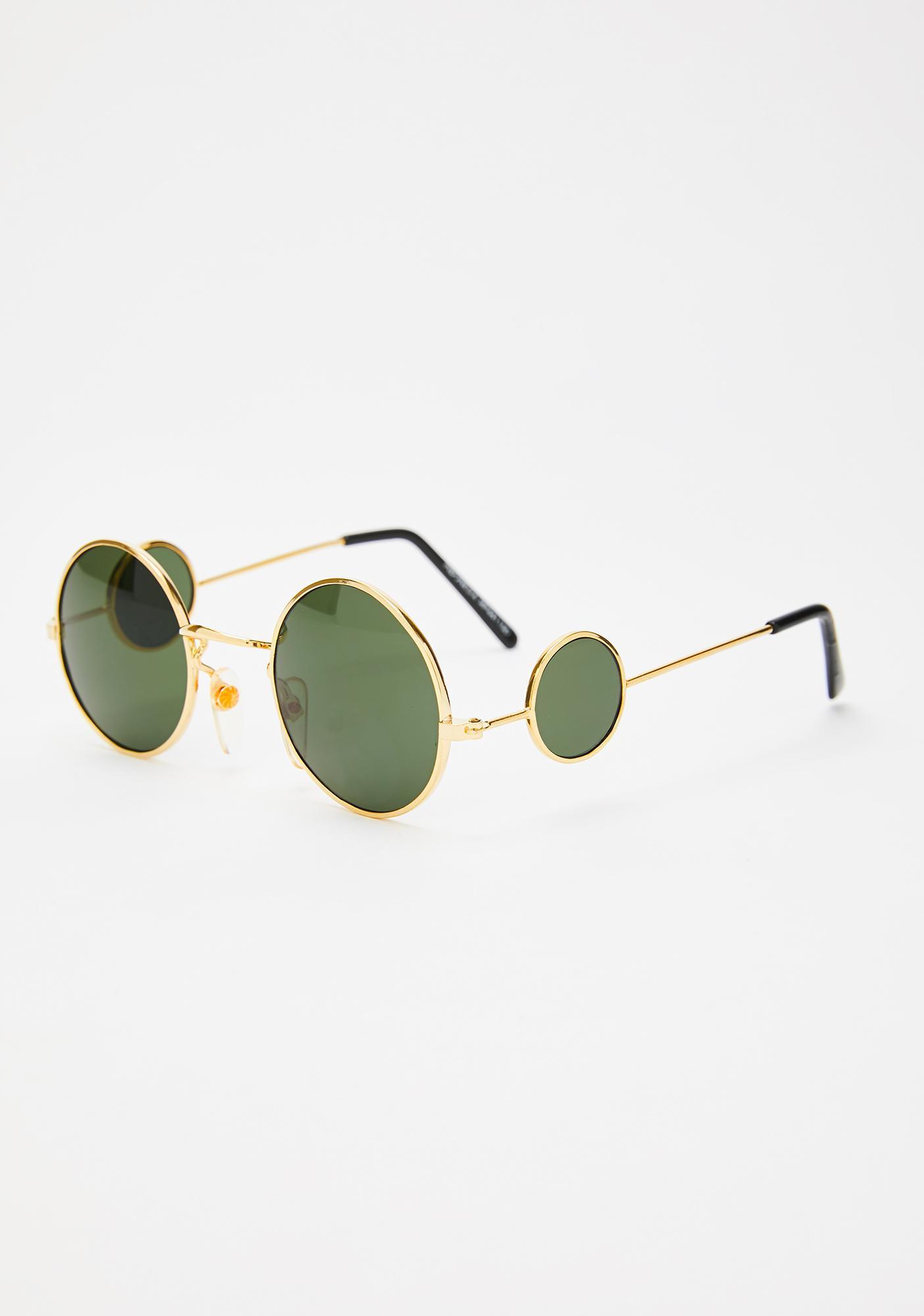 Giant Vintage Golden The Dawn Sunglasses