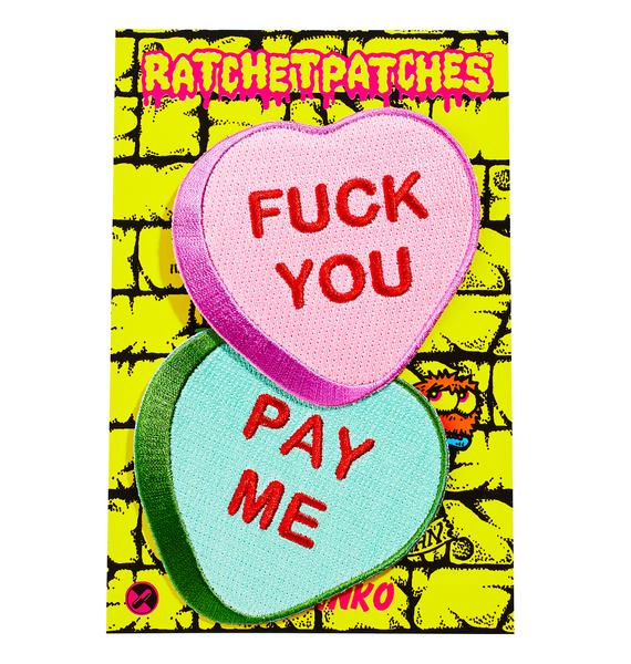 Fuck You Pay Me Patch Set