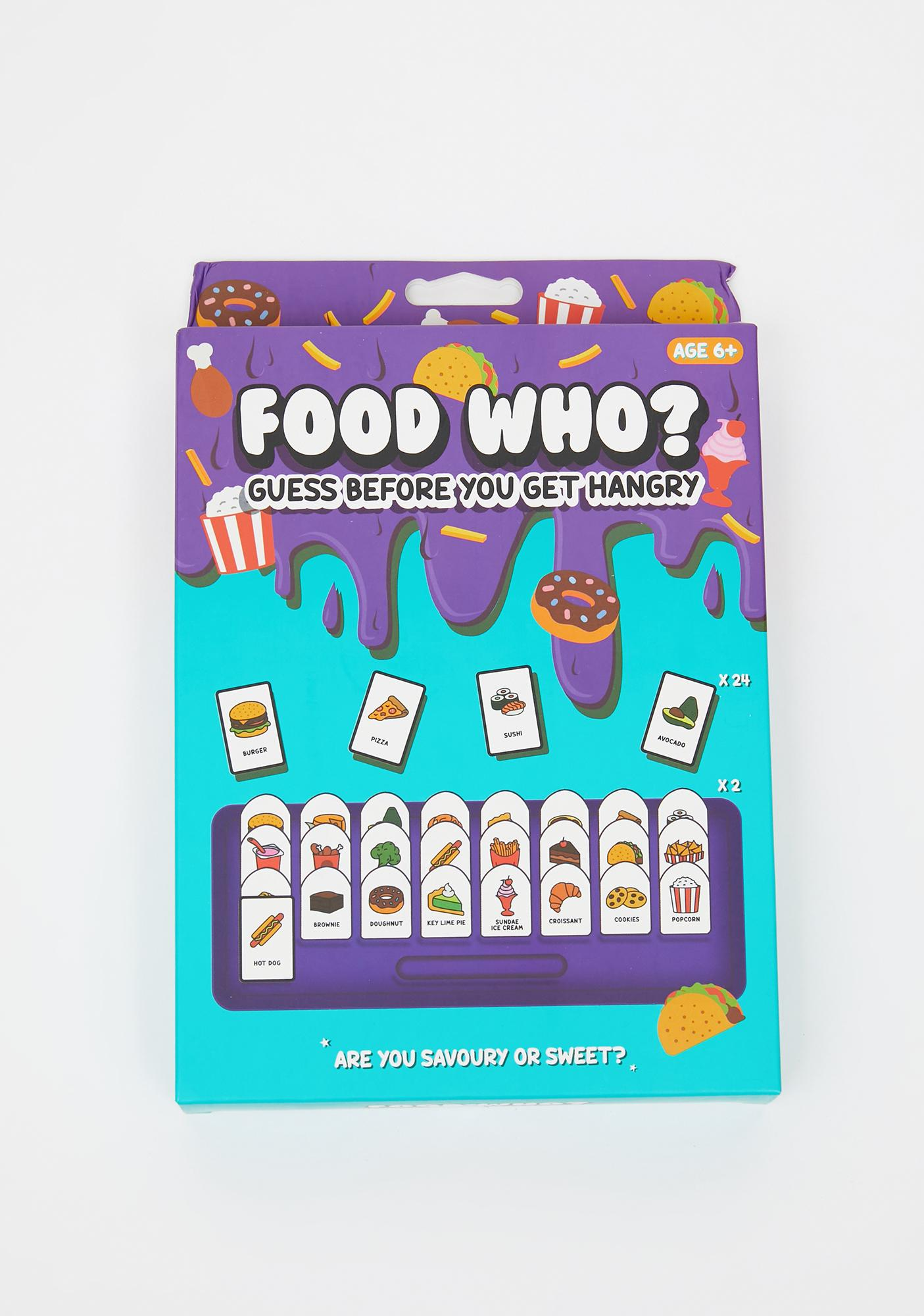 Food Who? Game