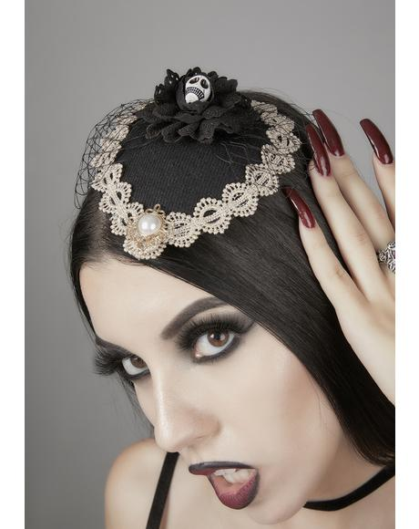 At Death's Door Gothic Headpiece