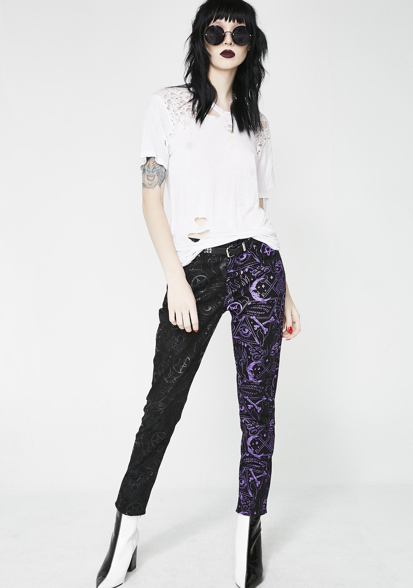Killstar Two Faced Denim Jeans