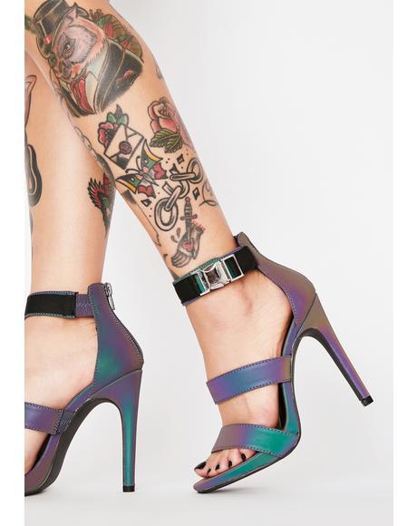 Digital Luvah Reflective Heels