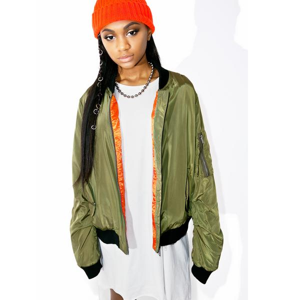On Attack Bomber Jacket