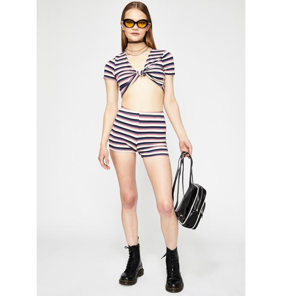 Nautical Mile Striped Set