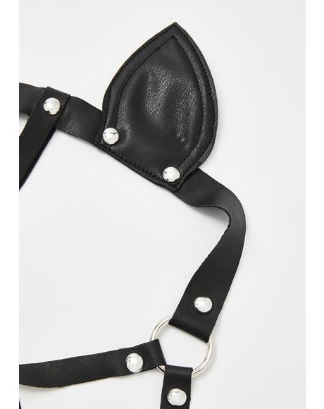 Hawt Lil Hellcat Harness Mask