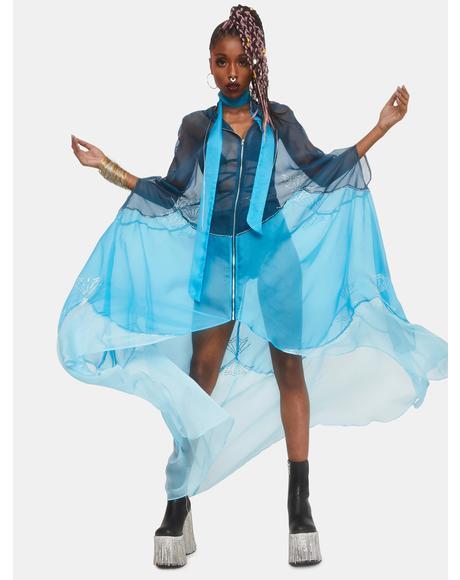 Fairy Ballet Sheer Kimono