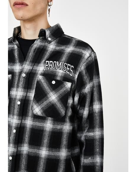 Vengeance Glitter Flannel Shirt
