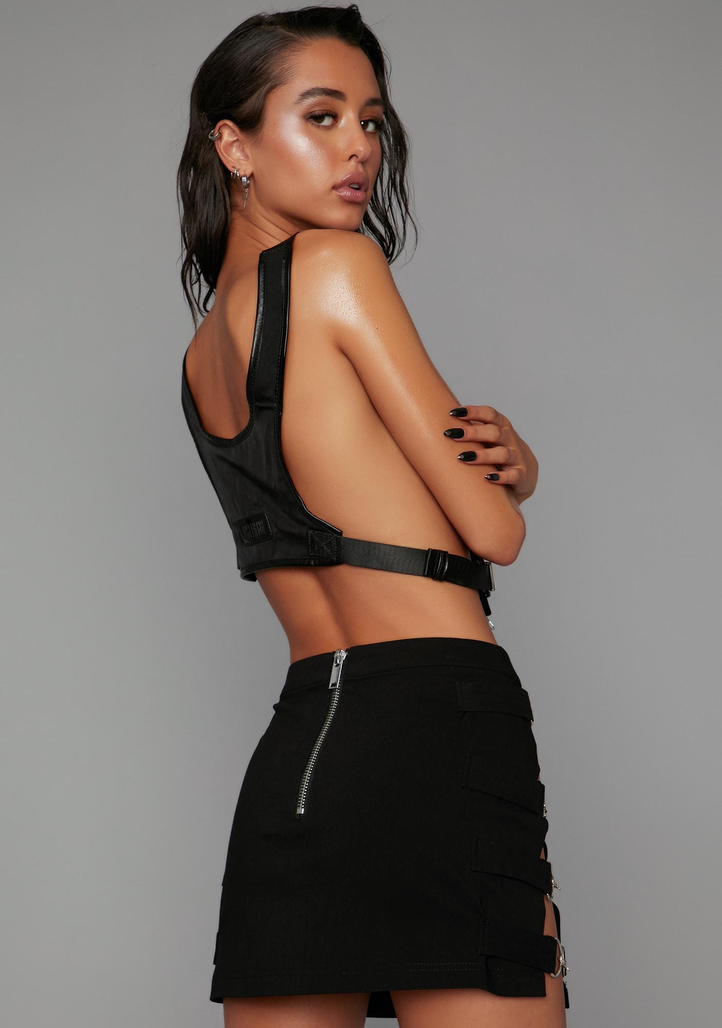 Poster Grl Can't Hold Me Back Mini Skirt