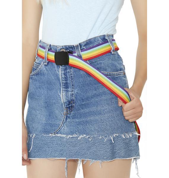 Lucky You Rainbow Belt