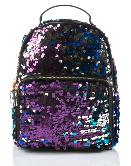 Celestial Levels Sequin Backpack