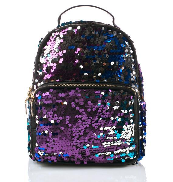 Celestial Levels Sequin Backpack