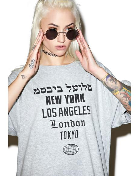 Worldwide Tee Dress