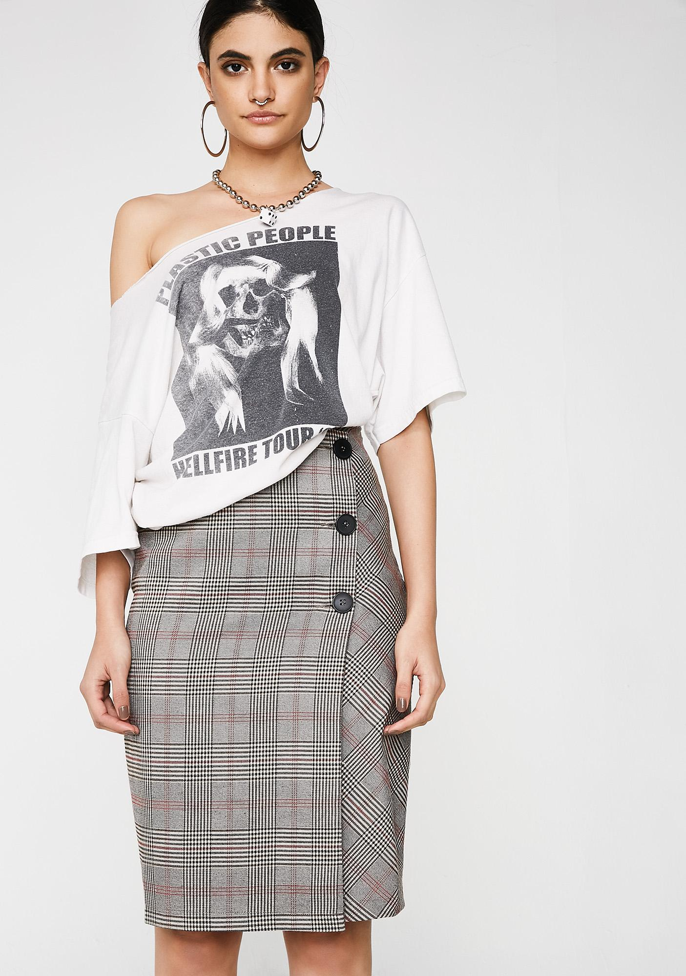 Teach or Preach Pencil Skirt