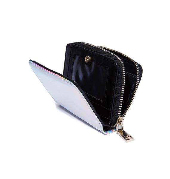 Current Mood Hollyweird Hologram Mini Wallet