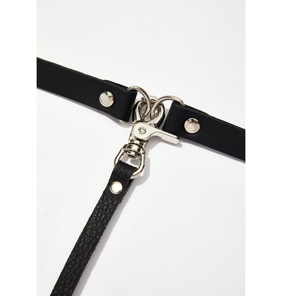 On A Tight Leash Choker