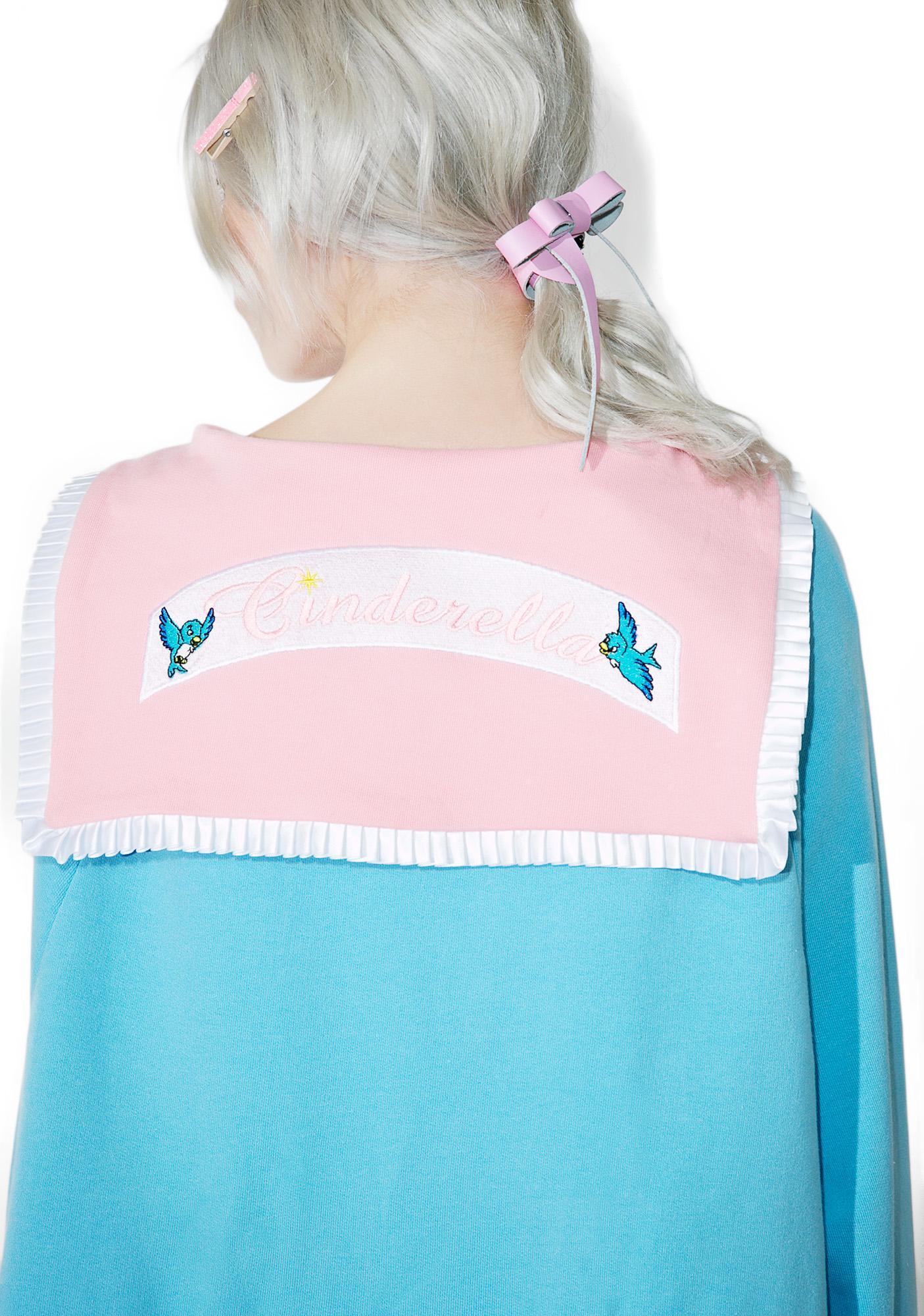 Lazy Oaf X Disney Cinderella Sweater Dress