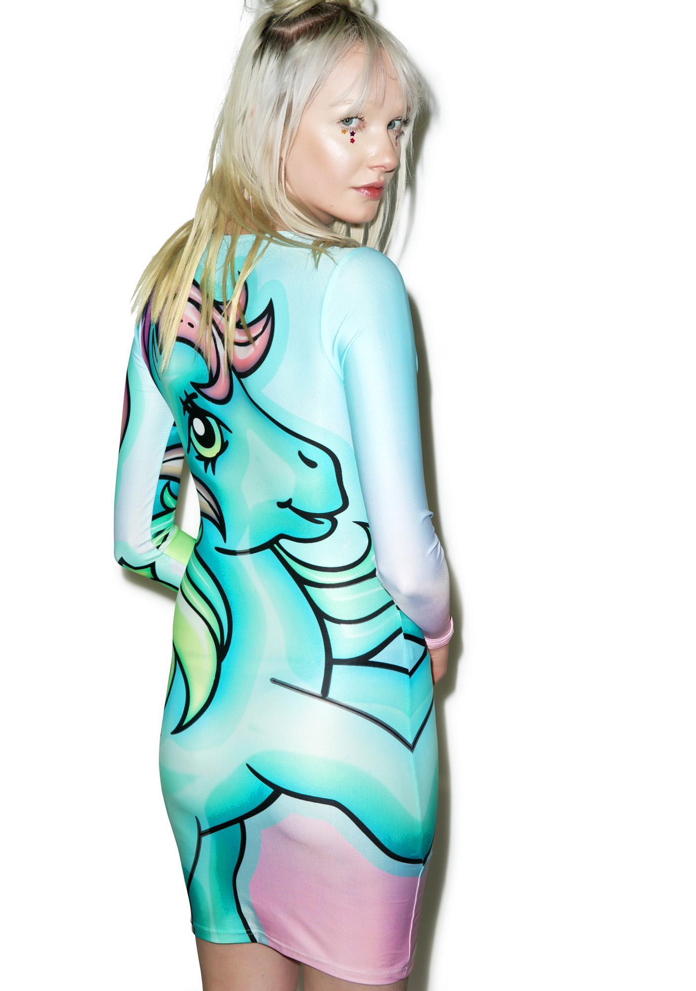 Alice Vandy Starflower Bodycon Dress