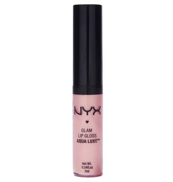 NYX  Beat Goes On Glam Lip Gloss