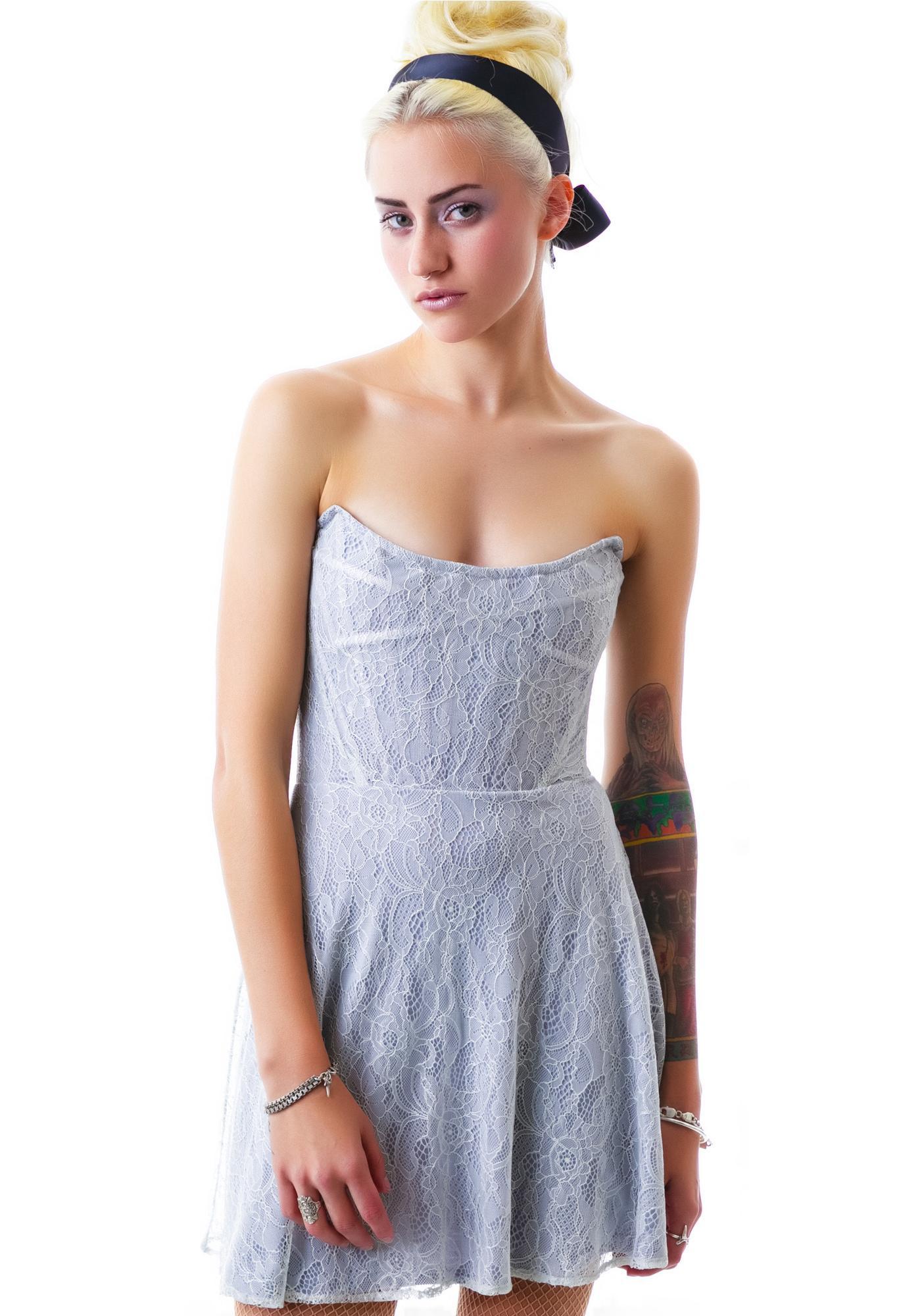 For Love & Lemons Corset Mini Dress