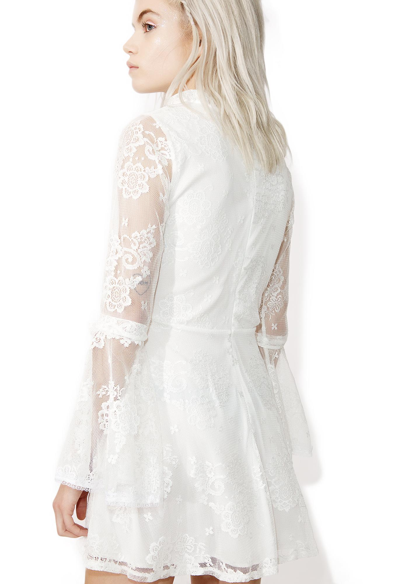 Lovesick Lace Mini Dress