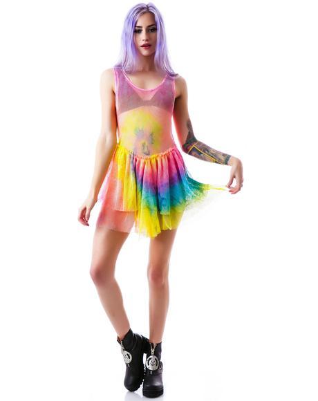 Tie Dye Bait Dress
