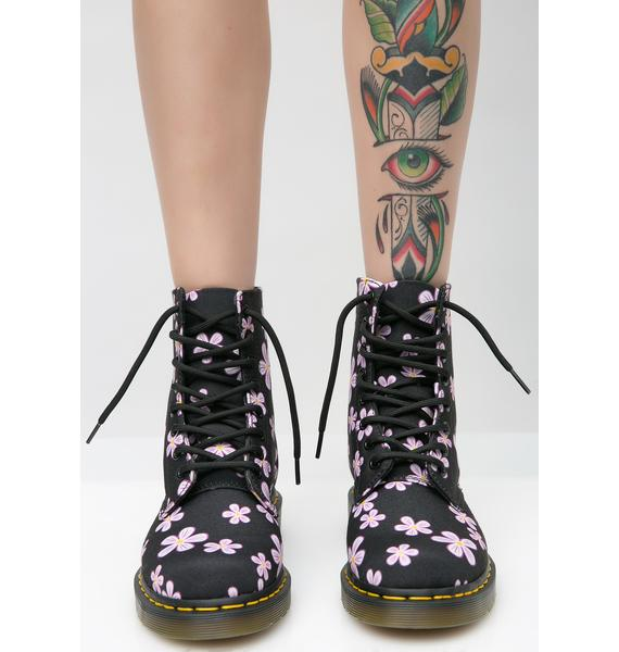 Dr. Martens Midnight Pascal Meadow Boots