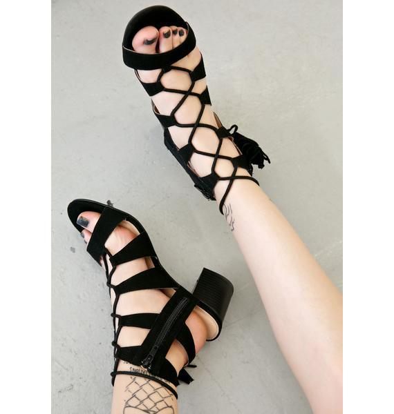 Lust For Life Dune Baby Fringe Sandals