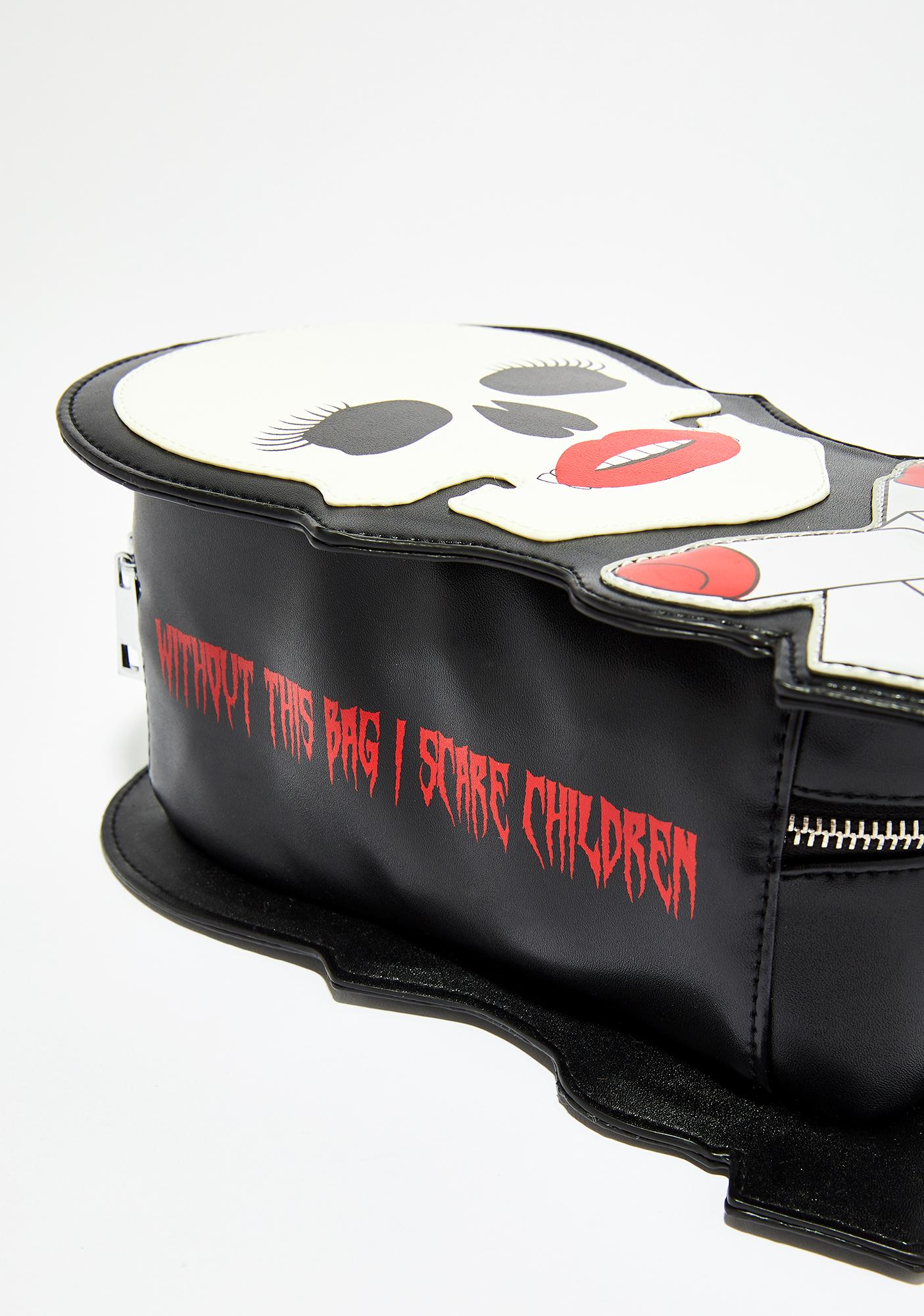 Current Mood I Scare Children Cosmetic Bag